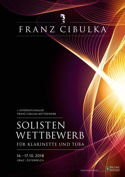 Programmheft Internationaler Franz Cibulka Wettbewerb 2018 für Klarinette und Tuba
